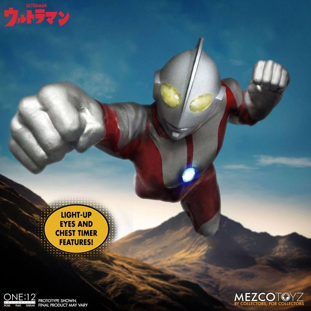 Ultraman figurine mezco toys 12