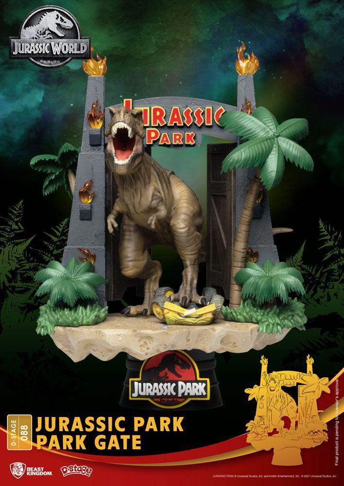 Urassic park diorama park 1