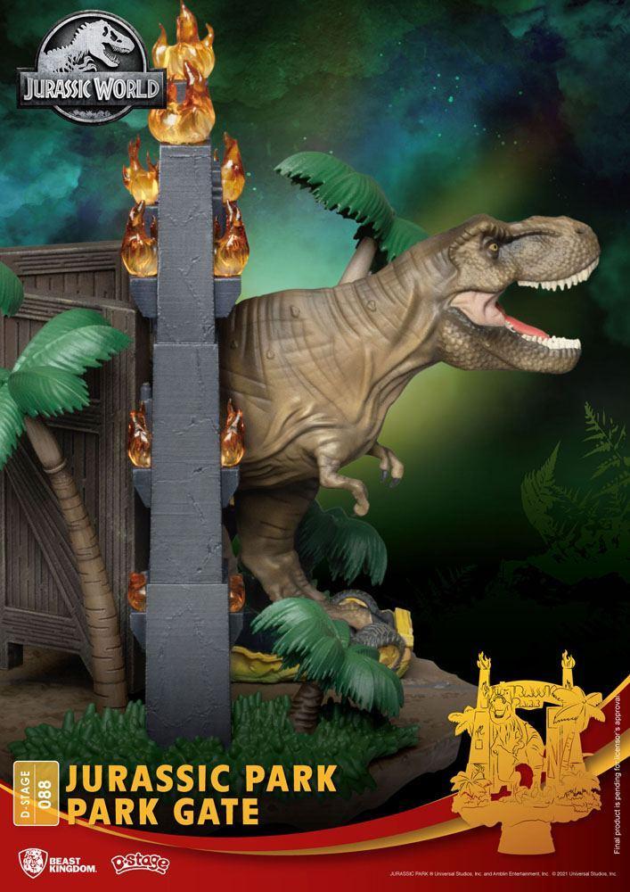 Urassic park diorama park 2