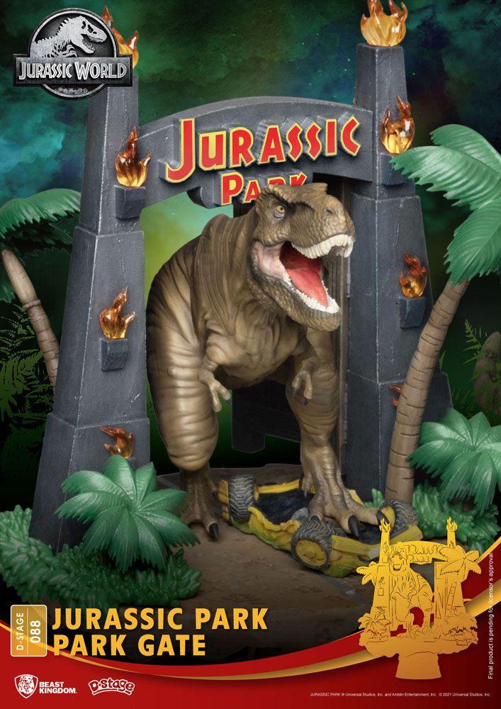 Urassic park diorama park 3