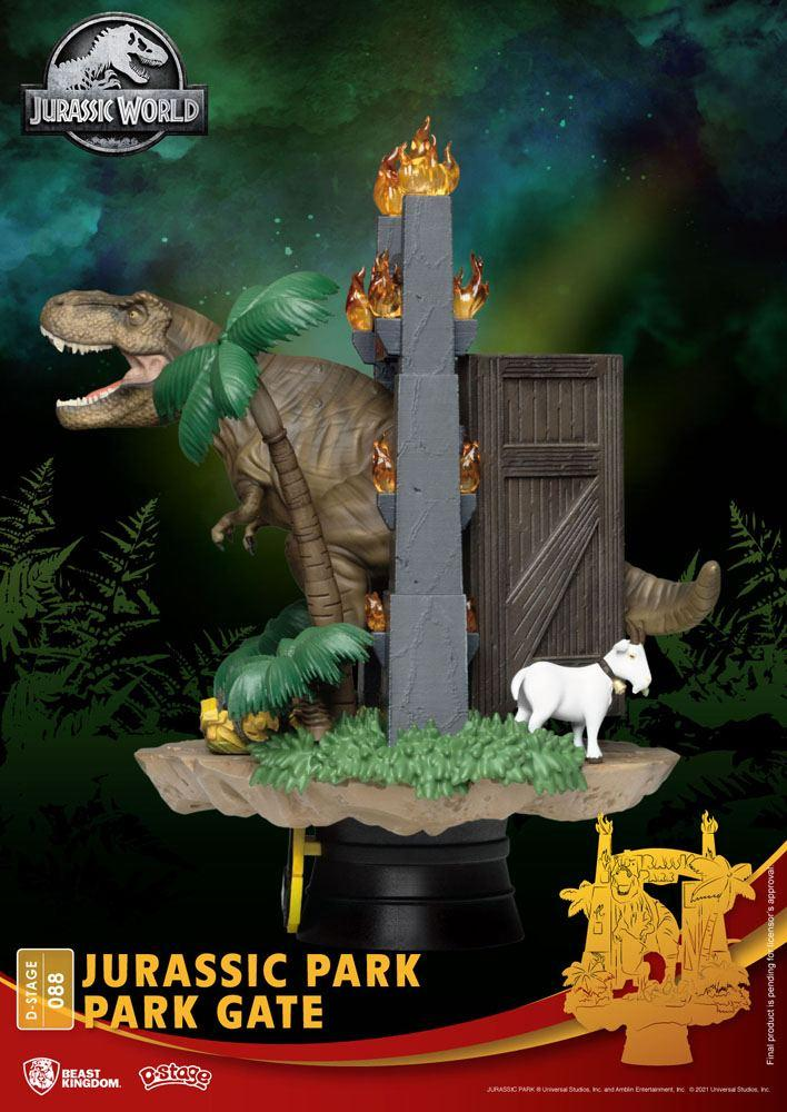 Urassic park diorama park 5