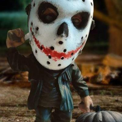 Vendredi 13 figurine jason voorhees halloween version 15 cm 7