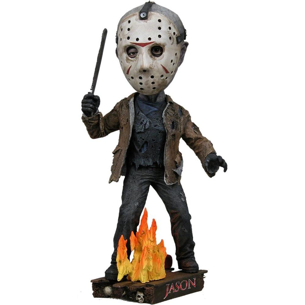 Vendredi 13 head knocker jason 18 cm