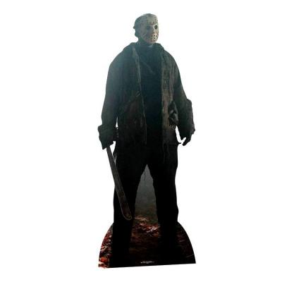 Vendredi 13 Jason Voorhees 190cm cutout Silhouette Chevalet