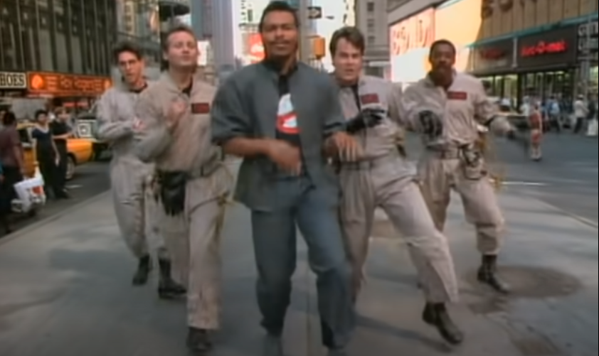 Video clip soundtrack ghosbusters