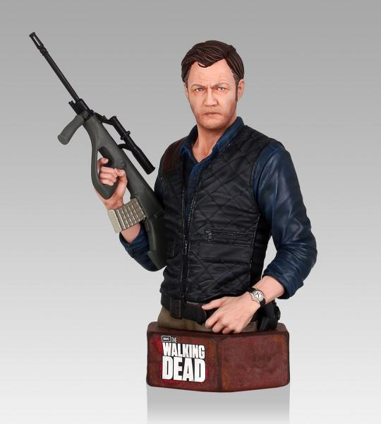 Walking dead the governor mini buste 4
