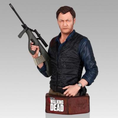 Walking Dead The governor mini buste résine 18cm