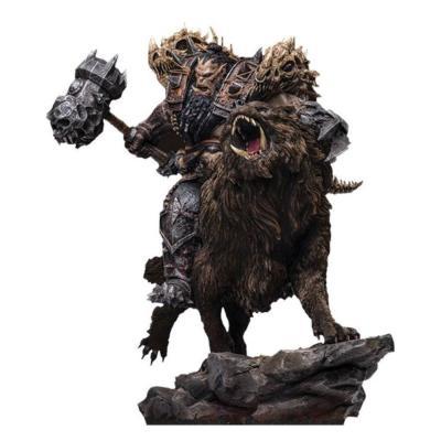 Warcraft : The Beginning statuette 1/9 Blackhand Riding Wolf (Standard Version) 40 cm