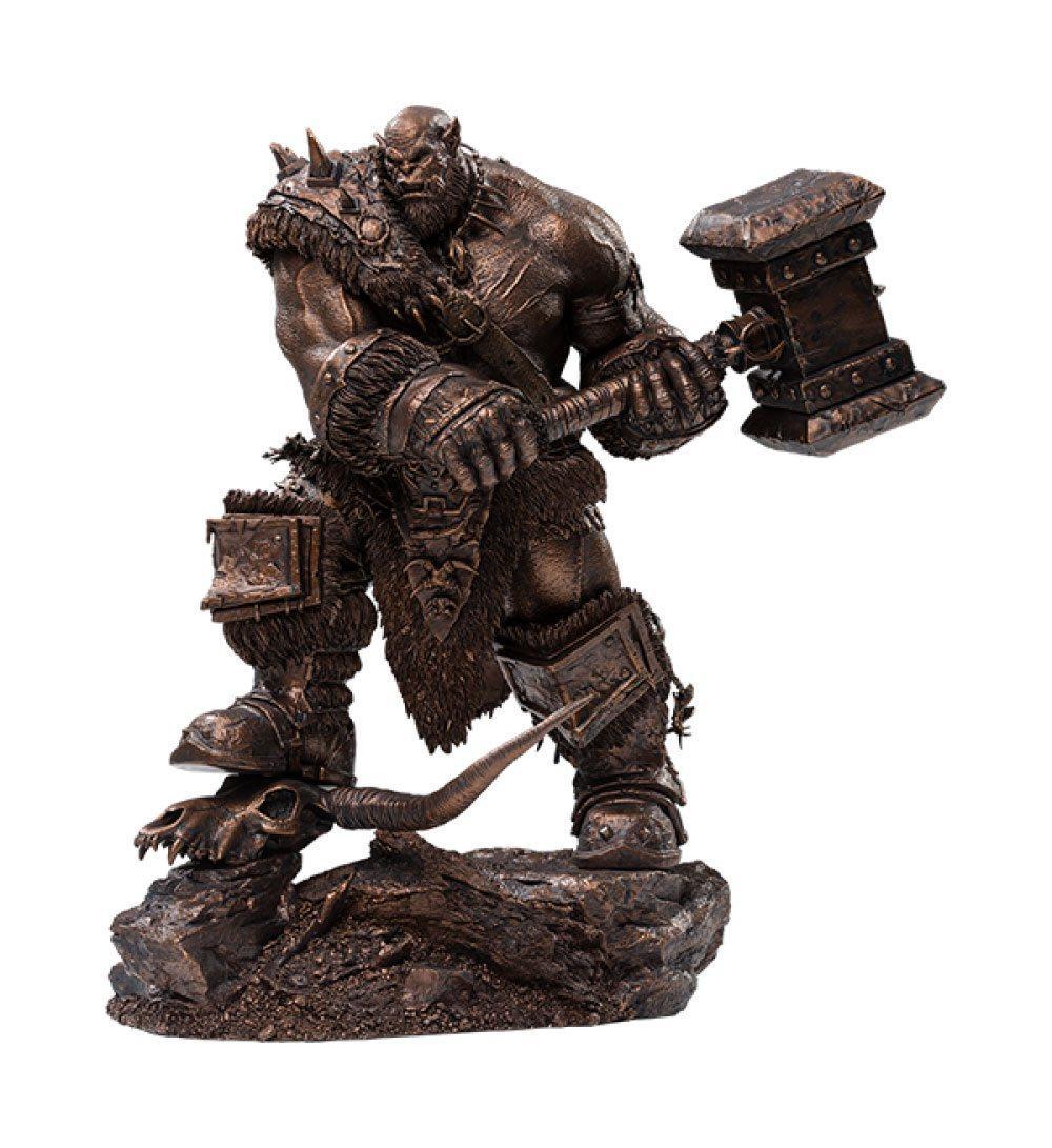 Warcraft the beginning statuette 19 orgrim imitation bronze version 27 cm 1