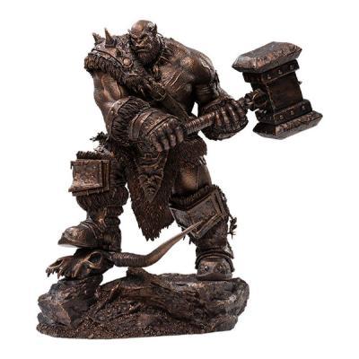 Warcraft : The Beginning statuette 1/9 Orgrim Imitation Bronze Version 27 cm