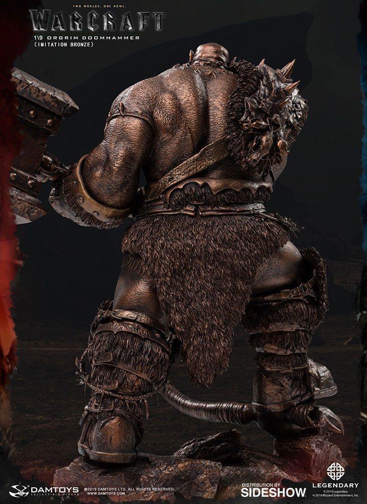 Warcraft the beginning statuette 19 orgrim imitation bronze version 27 cm 3