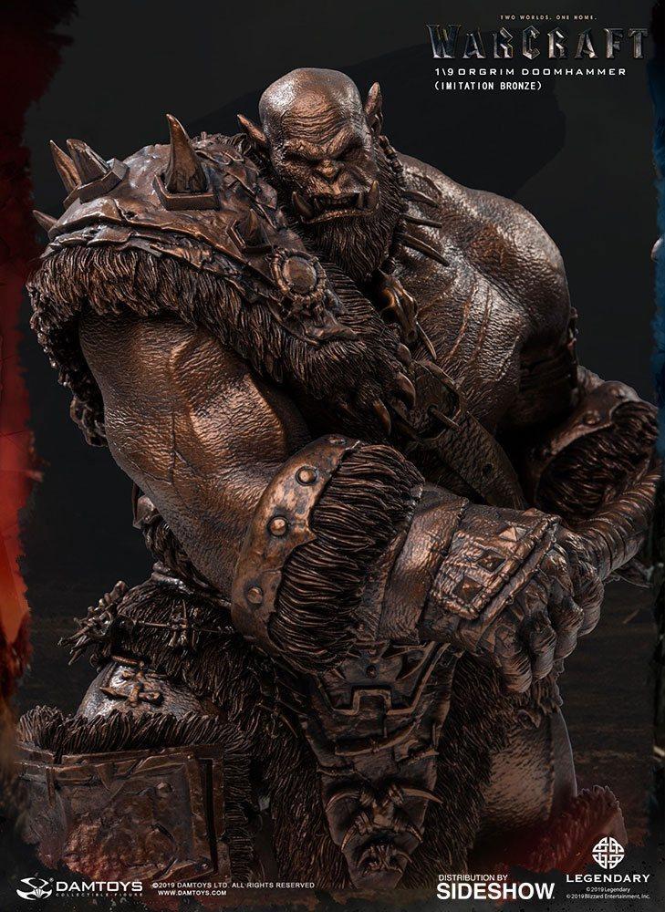 Warcraft the beginning statuette 19 orgrim imitation bronze version 27 cm 4