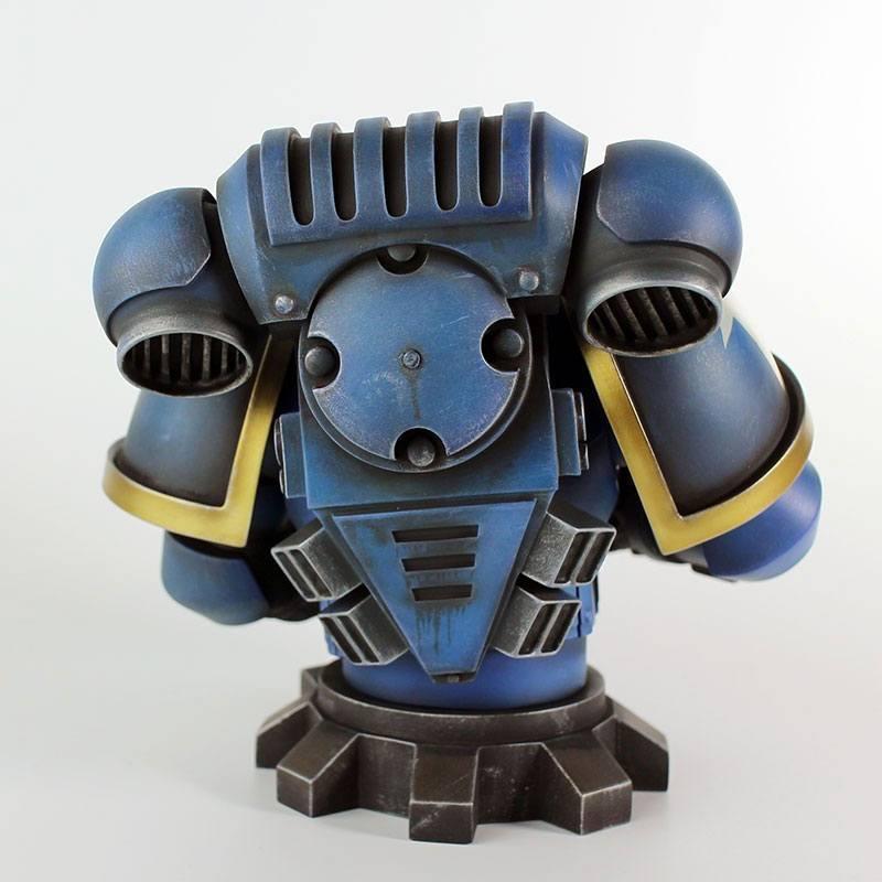 Warhammer 40k buste ultra marine primaris 16 cm 2