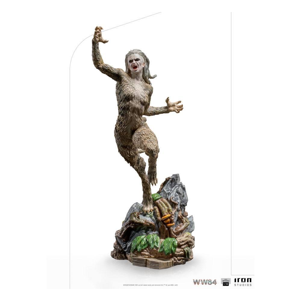 Wonder woman 1984 statuette bds art scale cheetah 23 cm 1