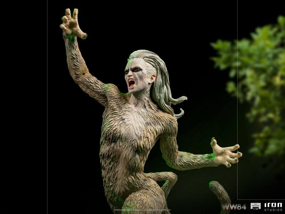 Wonder woman 1984 statuette bds art scale cheetah 23 cm 2