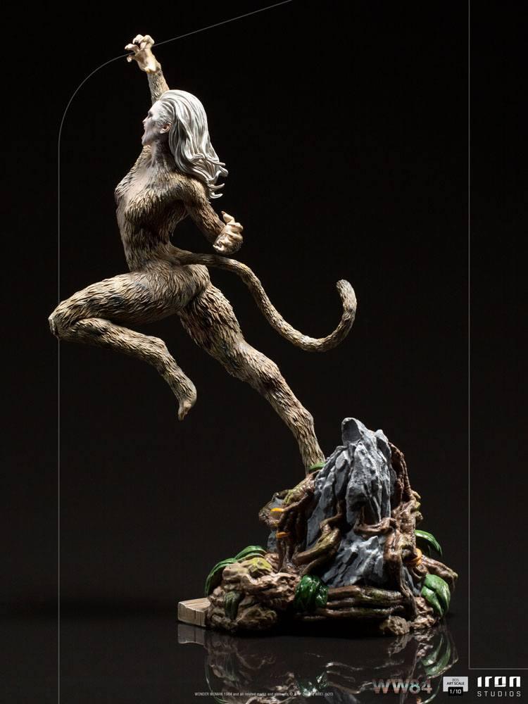 Wonder woman 1984 statuette bds art scale cheetah 23 cm 6