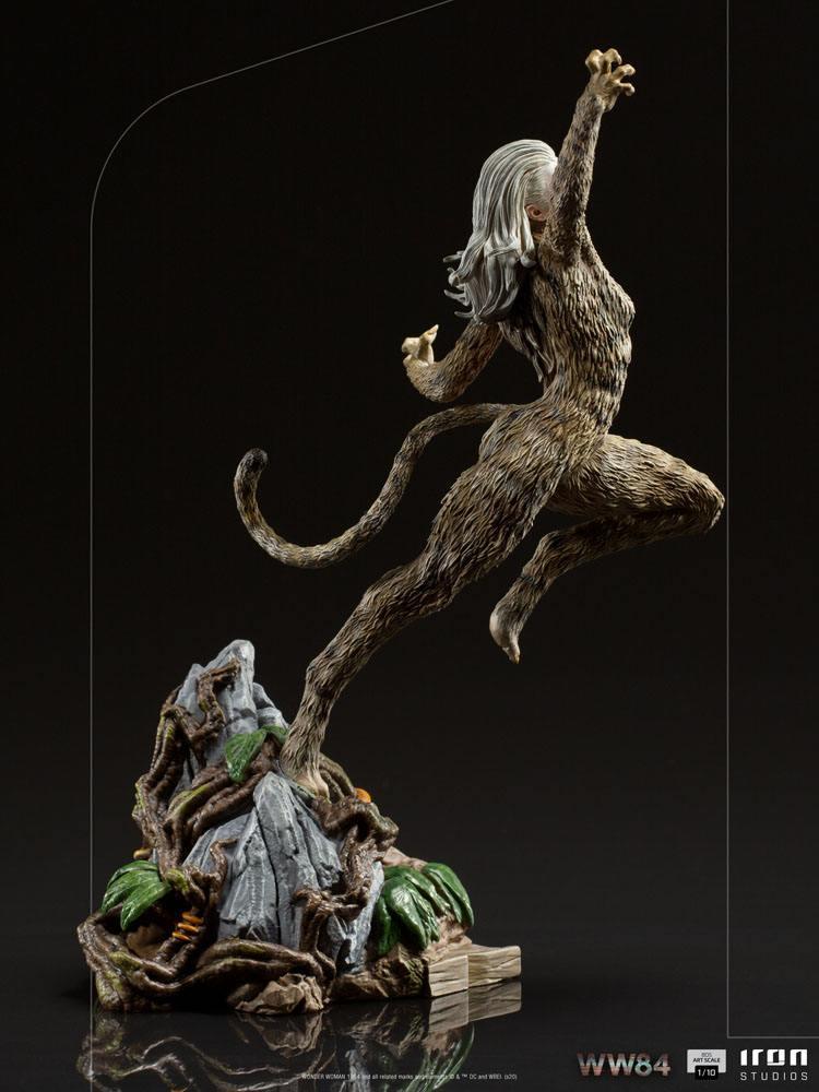 Wonder woman 1984 statuette bds art scale cheetah 23 cm 7