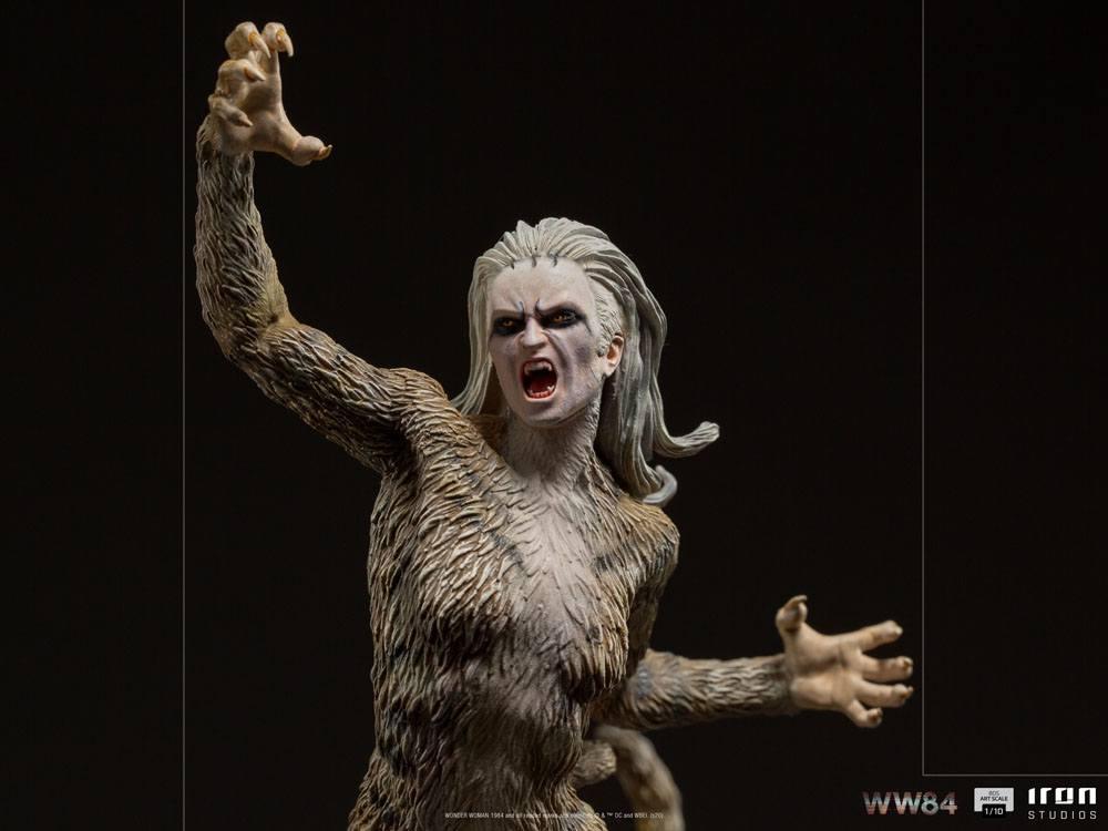 Wonder woman 1984 statuette bds art scale cheetah 23 cm 8