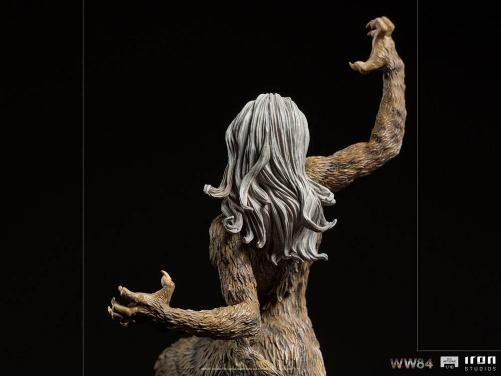 Wonder woman 1984 statuette bds art scale cheetah 23 cm 9