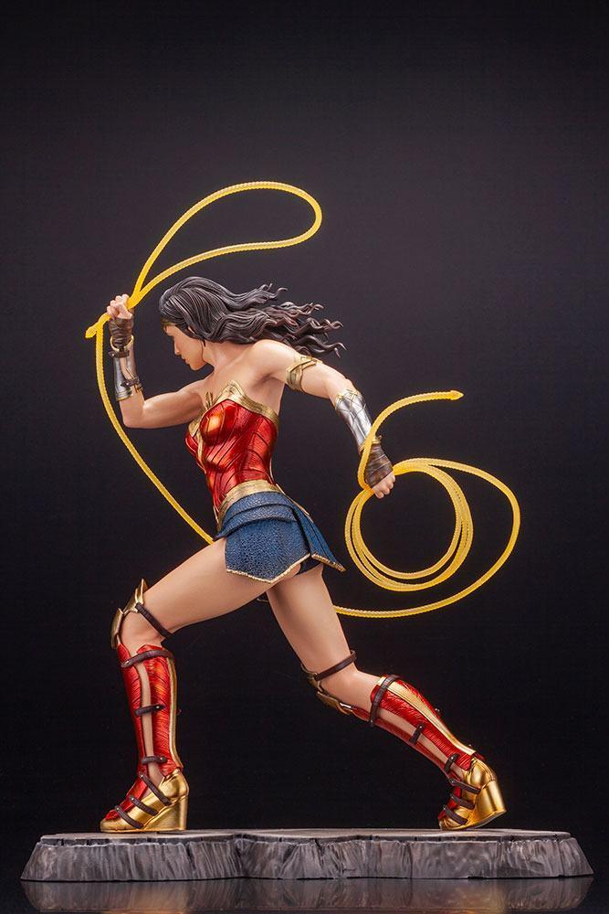 Wonder woman statuette 1984 movie kotobukiya suukoo toys figurine collection 2