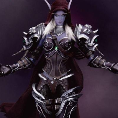 World of Warcraft Battle for Azeroth figurine Dynamic Action Heroes 1/9 Sylvanas Windrunner 21 cm