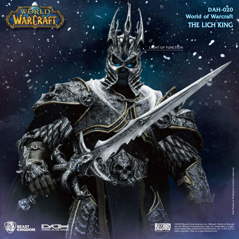 World of warcraft wrath of the lich king figurine dynamic action heroes 19 arthas menethil 24 cm 2