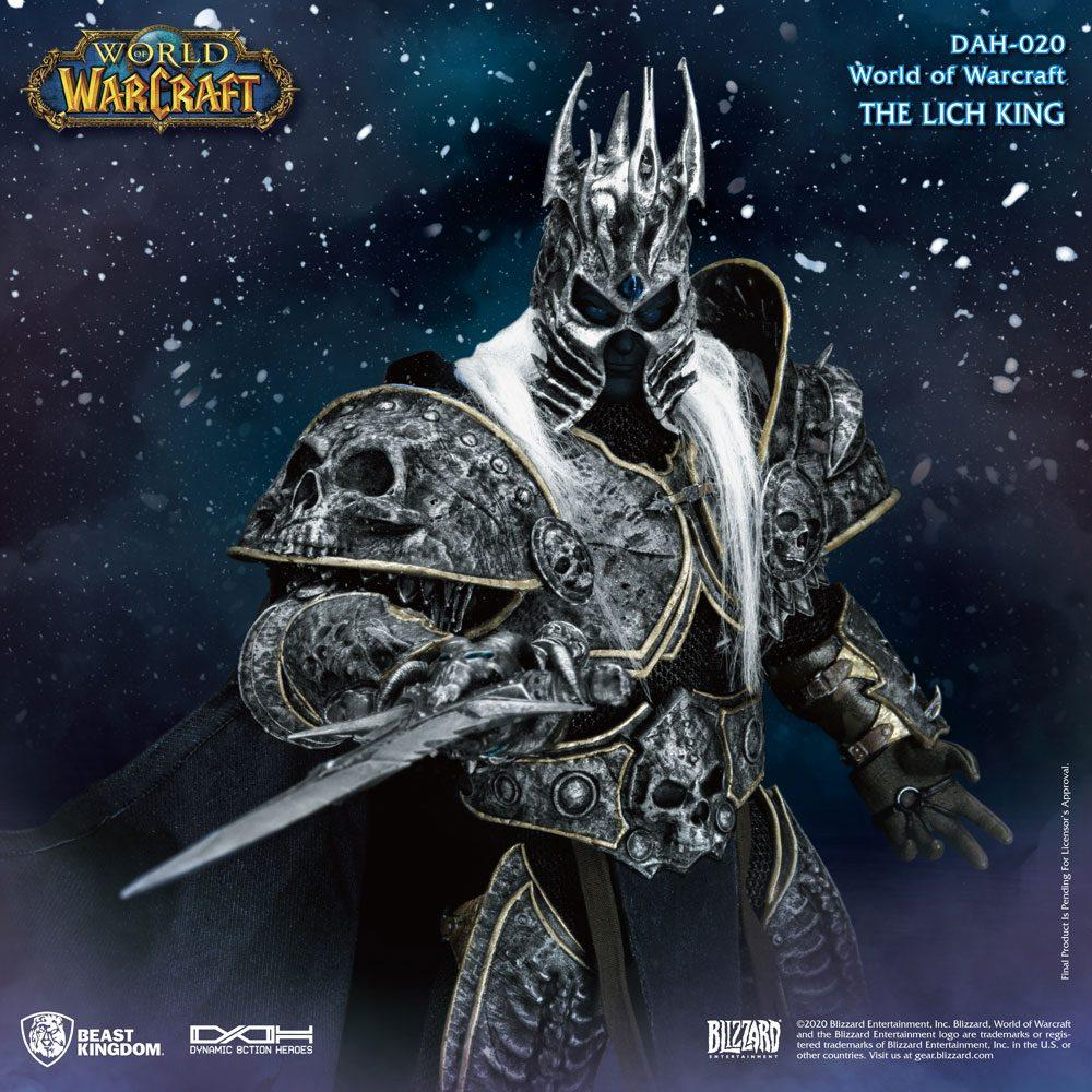 World of warcraft wrath of the lich king figurine dynamic action heroes 19 arthas menethil 24 cm 3