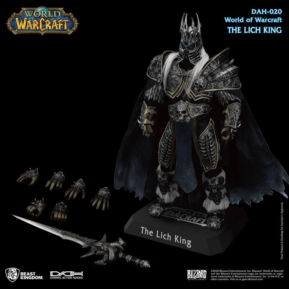 World of warcraft wrath of the lich king figurine dynamic action heroes 19 arthas menethil 24 cm 4