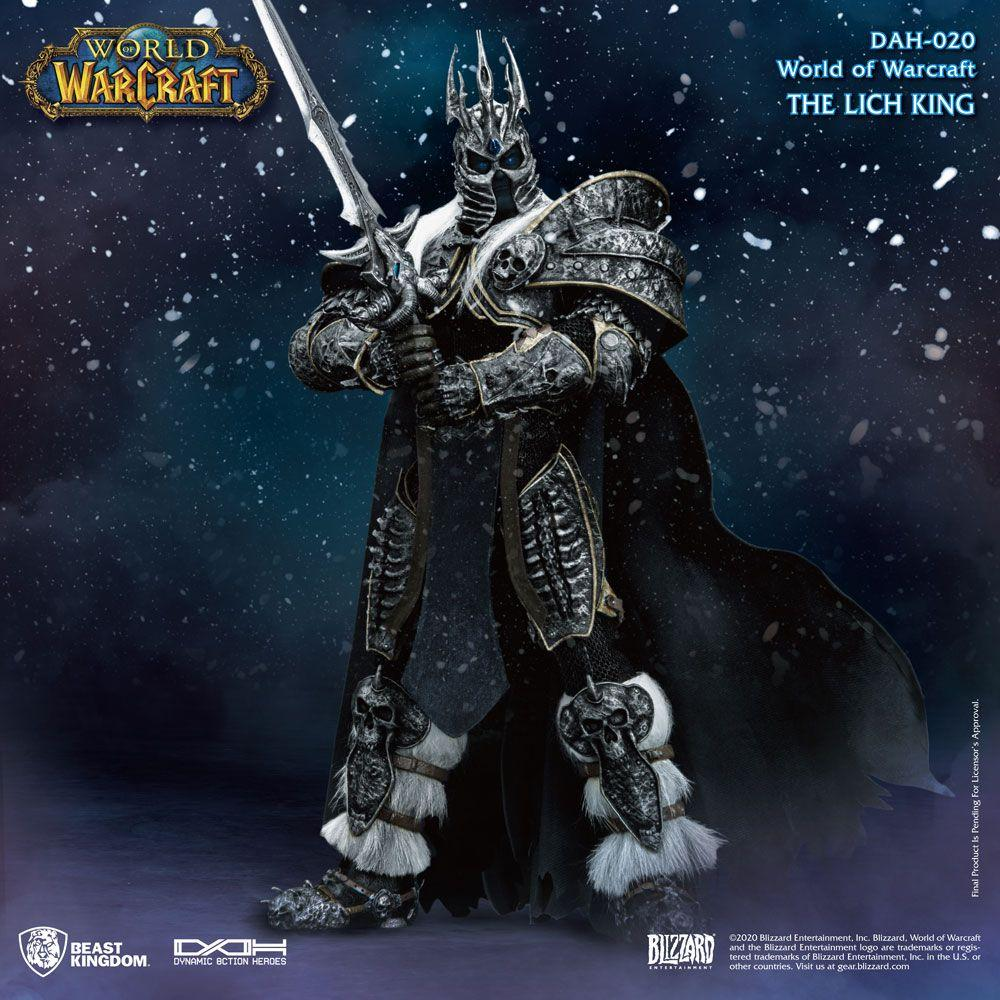 World of warcraft wrath of the lich king figurine dynamic action heroes 19 arthas menethil 24 cm 5