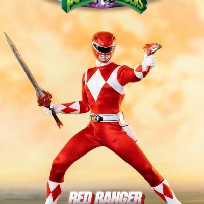 Power Rangers Mighty Morphin figurine FigZero 1/6 Red Ranger 30 cm