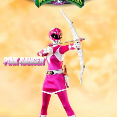Power Rangers Mighty Morphin figurine FigZero 1/6 Pink Ranger 30 cm