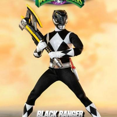 Power Rangers Mighty Morphin figurine FigZero 1/6 Black Ranger 30 cm