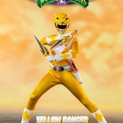 Power Rangers Mighty Morphin figurine FigZero 1/6 Yellow Ranger 30 cm