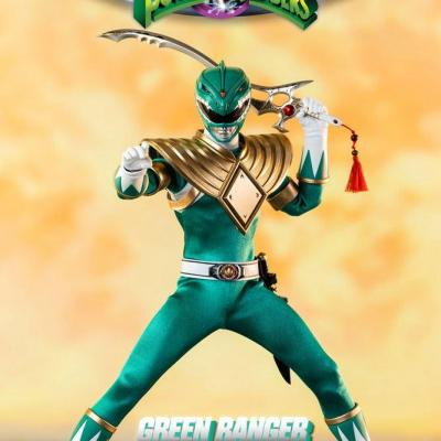 Power Rangers Mighty Morphin figurine FigZero 1/6 Green Ranger 30 cm