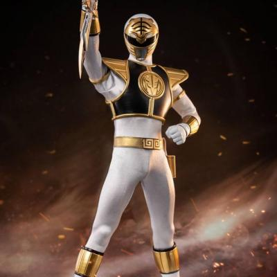 Mighty Morphin Power Rangers figurine FigZero 1/6 White Ranger 30 cm