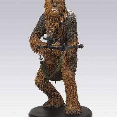 Star Wars statuette résine Chewbacca collection Elite Attakus figurine édition limitée