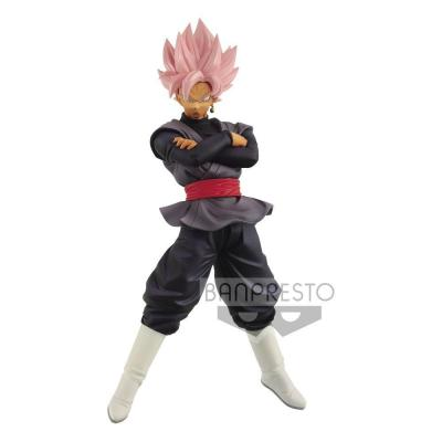Dragon Ball Super statuette PVC Chosenshiretsuden Super Saiyan Rosé Goku Black 16 cm