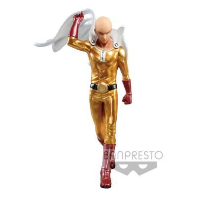 One Punch Man statuette PVC DXF Saitama Metalic Color 20 cm
