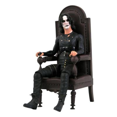 The Crow figurine Deluxe Eric Draven in Chair SDCC 2021 Exclusive 18 cm