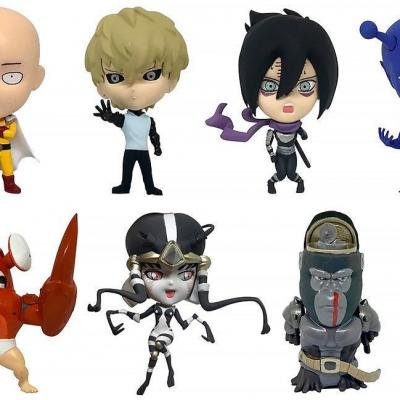 One Punch Man pack 8 figurines 16d Collectible Figure Collection Vol. 1 6 cm