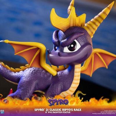 Spyro 2: Gateway to Glimmer statuette PVC Spyro 20 cm