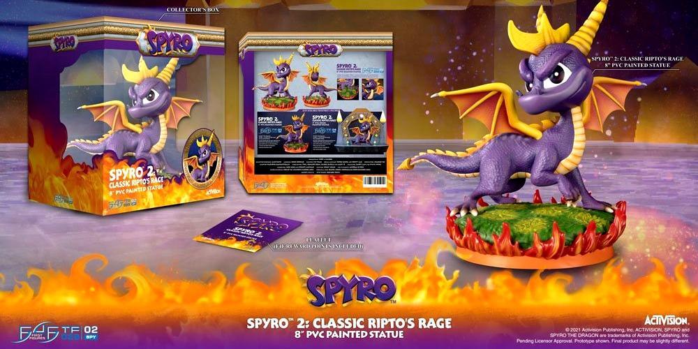 Spyro 2 statuette-F4F
