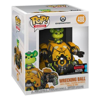 Overwatch Super Sized POP! Vinyl figurine Toxic Wrecking Ball 15 cm Limited Edition