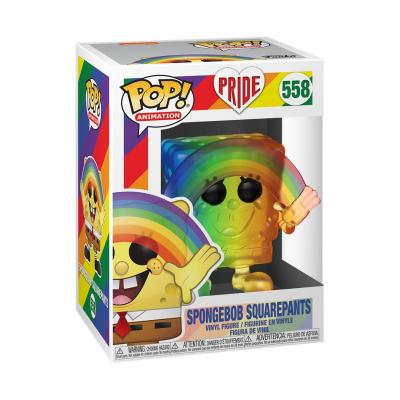 Pride 2020 Bob l´éponge POP! Animation Vinyl figurine Spongebob (RNBW) 9 cm