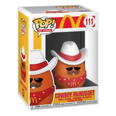 McDonald's POP! Ad Icons Vinyl figurine Cowboy Nugget 9 cm
