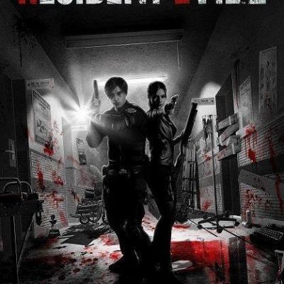 Resident Evil lithographie Limited Edition 42 x 30 cm édition limitée