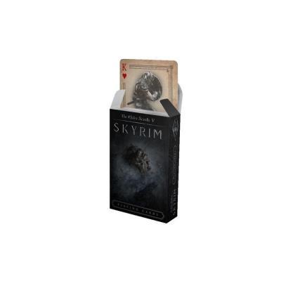 The Elder Scrolls V Skyrim jeu de cartes à jouer