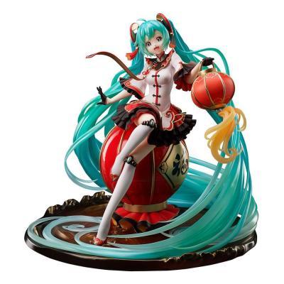 Vocaloid statuette PVC 1/7 Hatsune Miku 2021 Chinese New Year Ver. 25 cm