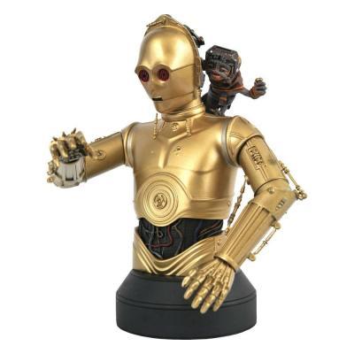 Star Wars Episode IX buste 1/6 C-3PO & Babu Frik 15 cm