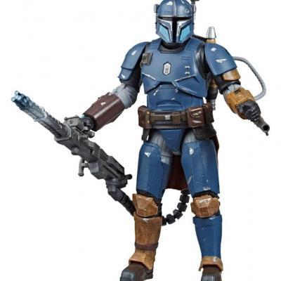 Star Wars The Mandalorian Black Series figurine Deluxe Heavy Infantry Mandalorian Exclusive 15 cm